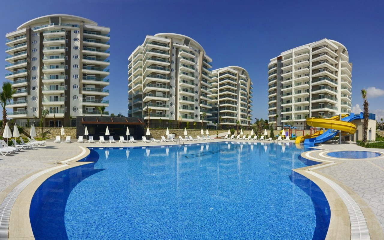 (ENGLISH |) AV002 – Avsallar Luxury Residence – Alanya – Turkey