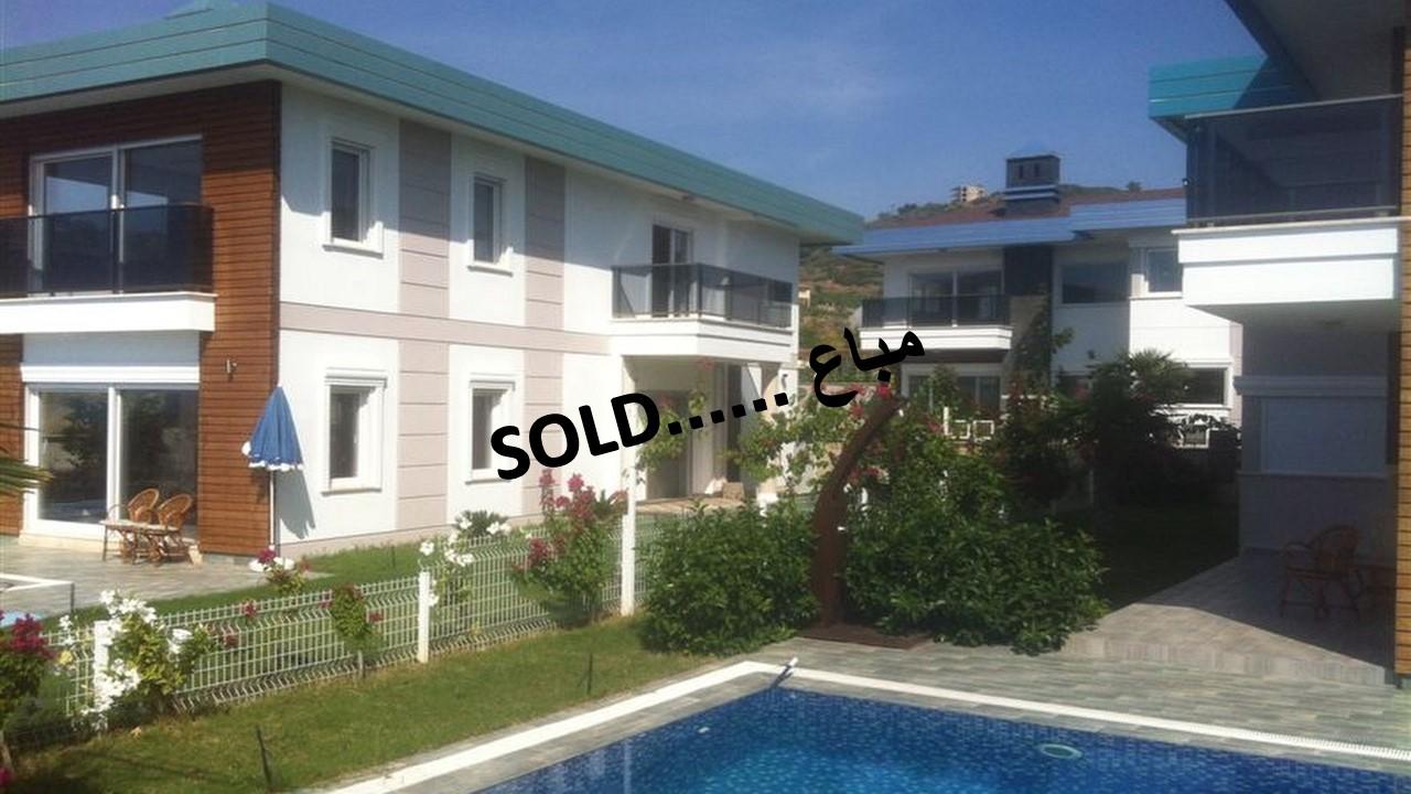 (ENGLISH |) A030 – 3 Villas for sale – Alanya – Turkey