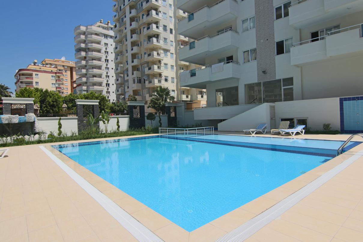 (ENGLISH |) A012 – 2+1 Furnished Apartment – Mahmutlar – Alanya – Turkey