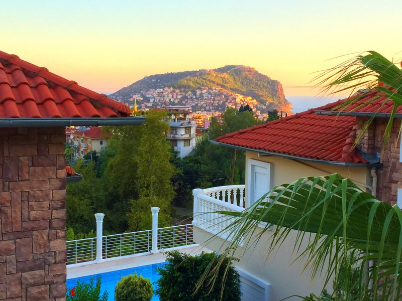 (ENGLISH |) A314 – Fully Furnished 3+1 villa, only 2 km to center of Alanya