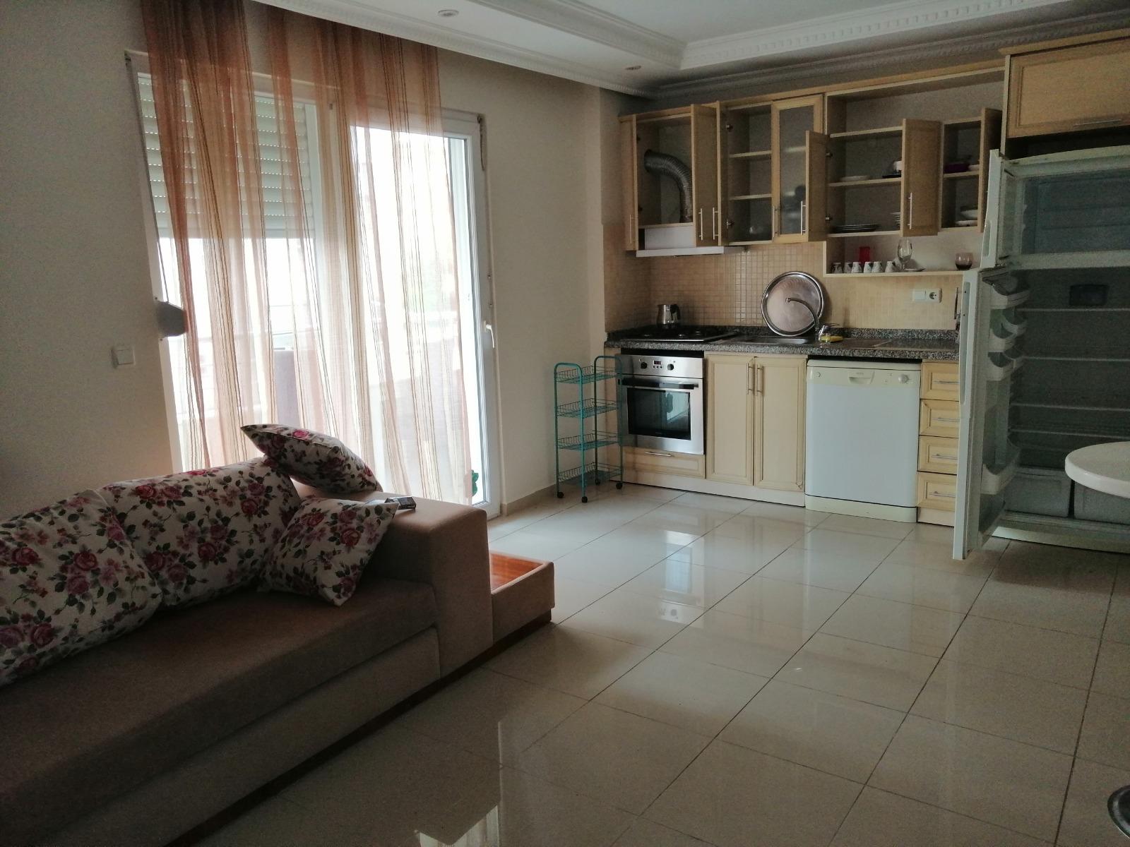 (ENGLISH |) A324- Alanya – Kadıpaşa – Salı Pazari – 2+1 Furnished Apartment