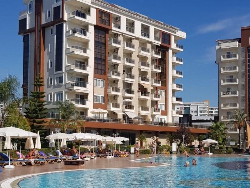 (ENGLISH |) Avsallar – Turkey – 2+1 , 2 Balconies, 4th Floor, Fully Furnished.